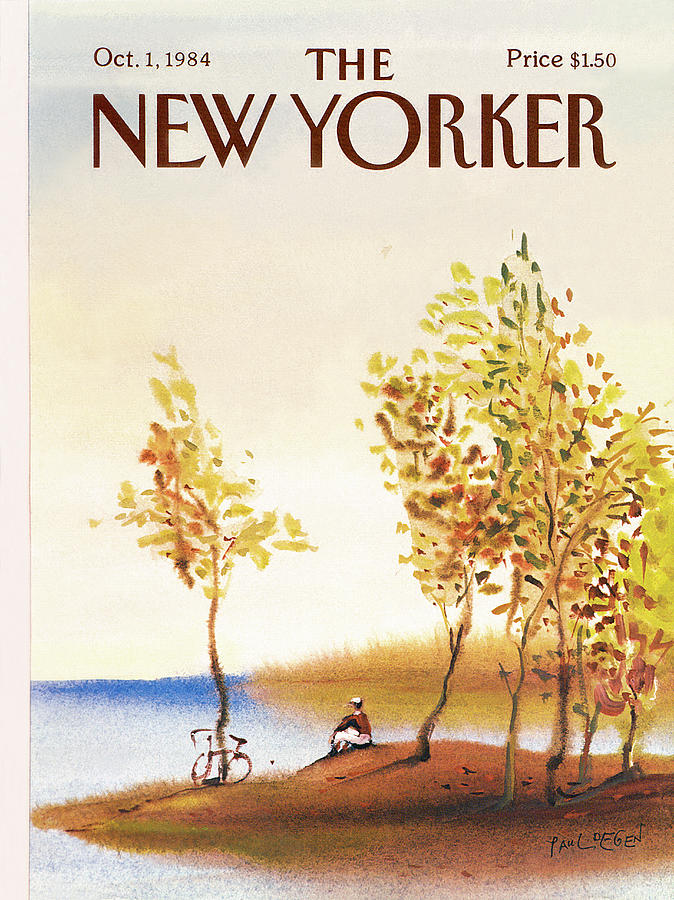 New Yorker October 1st, 1984 Painting by Paul Degen