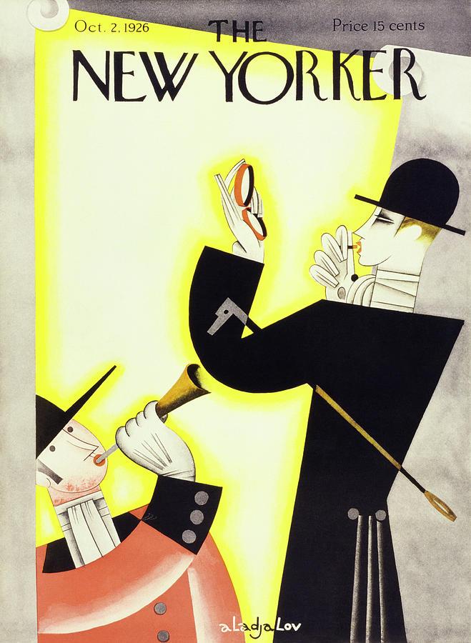 New Yorker October 2 1926 Painting by Constantin Alajalov