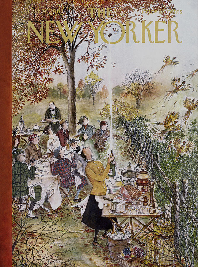 New Yorker October 20th, 1962 Painting by Mary Petty