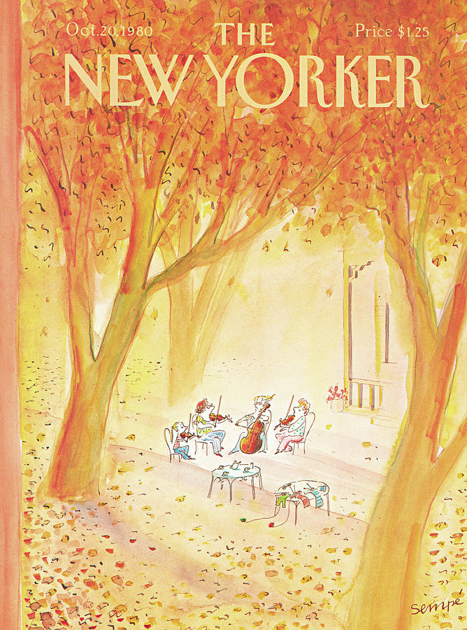 New Yorker October 20th, 1980 Painting by Jean-Jacques Sempe
