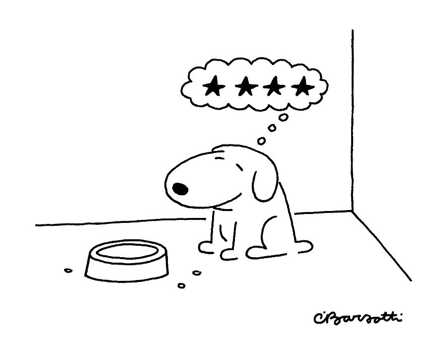 Animals Drawing - New Yorker October 20th, 1986 by Charles Barsotti