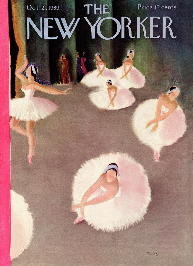 New Yorker October 21st, 1939 Painting by Susanne Suba