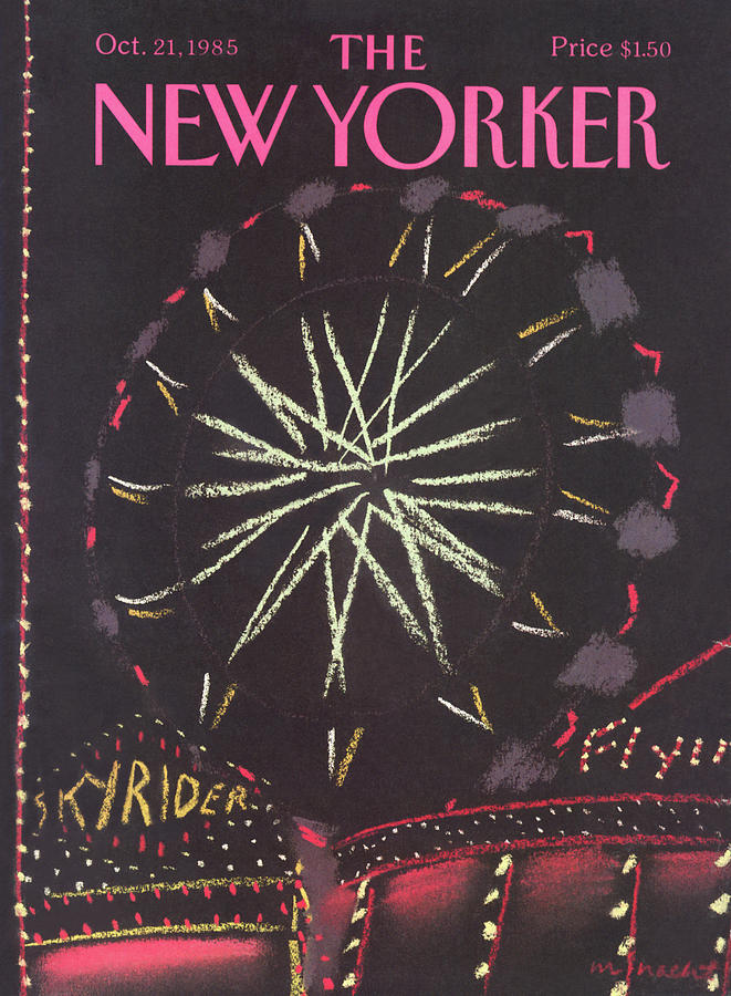 New Yorker October 21st, 1985 Painting by Merle Nacht