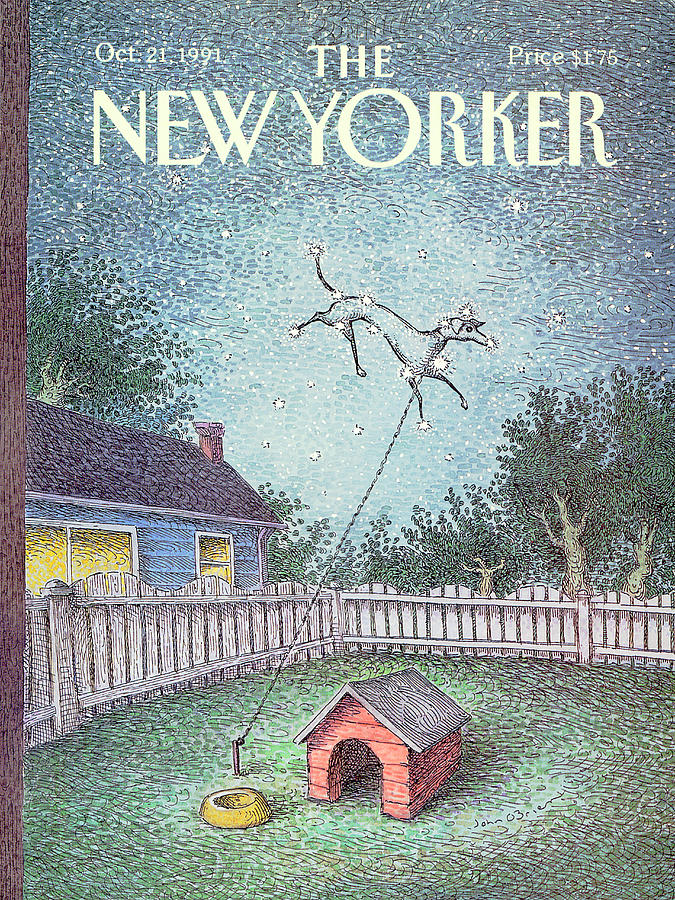 New Yorker October 21st, 1991 Painting by John OBrien