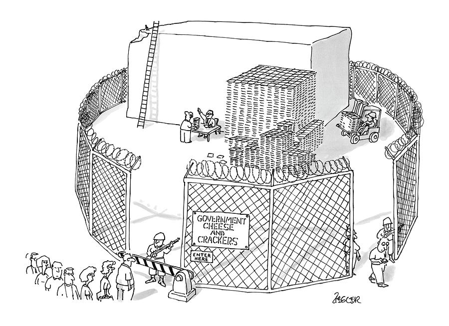 New Yorker October 21st, 1996 Drawing by Jack Ziegler