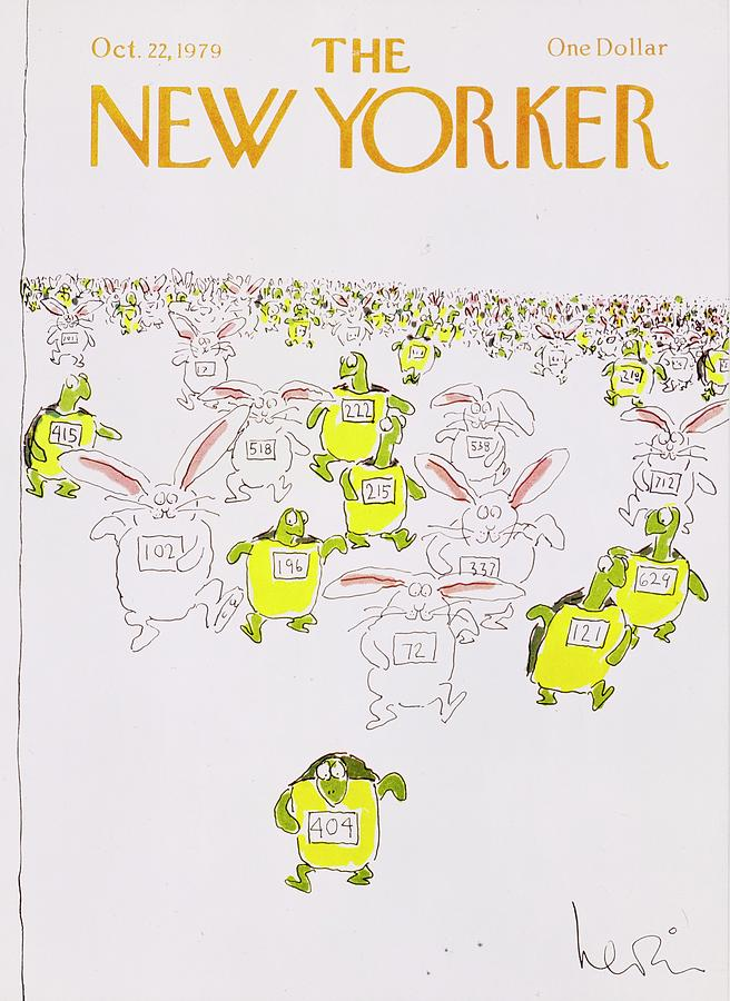 New Yorker October 22nd 1979 Painting by Arnie Levin