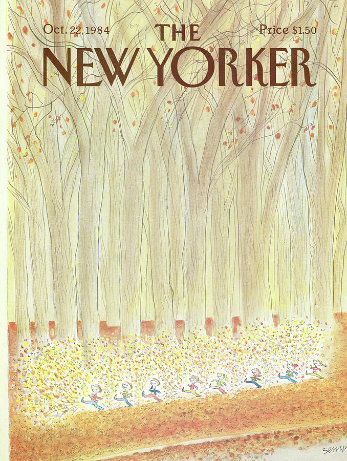 New Yorker October 22nd, 1984 Painting by Jean-Jacques Sempe