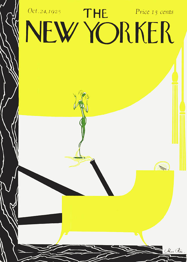 New Yorker October 24 1925 Painting by Max Ree