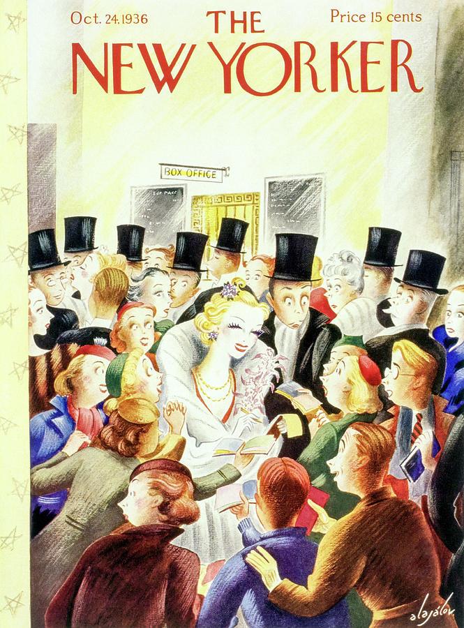 New Yorker October 24 1936 Painting by Constantin Alajalov