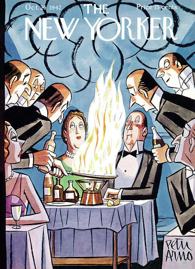 New Yorker October 24, 1942 Painting by Peter Arno
