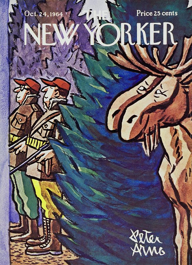 New Yorker October 24th 1964 Painting by Peter Arno