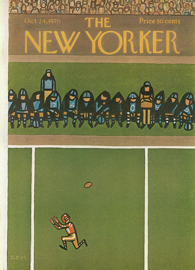 New Yorker October 24th, 1970 Painting by Charles E Martin