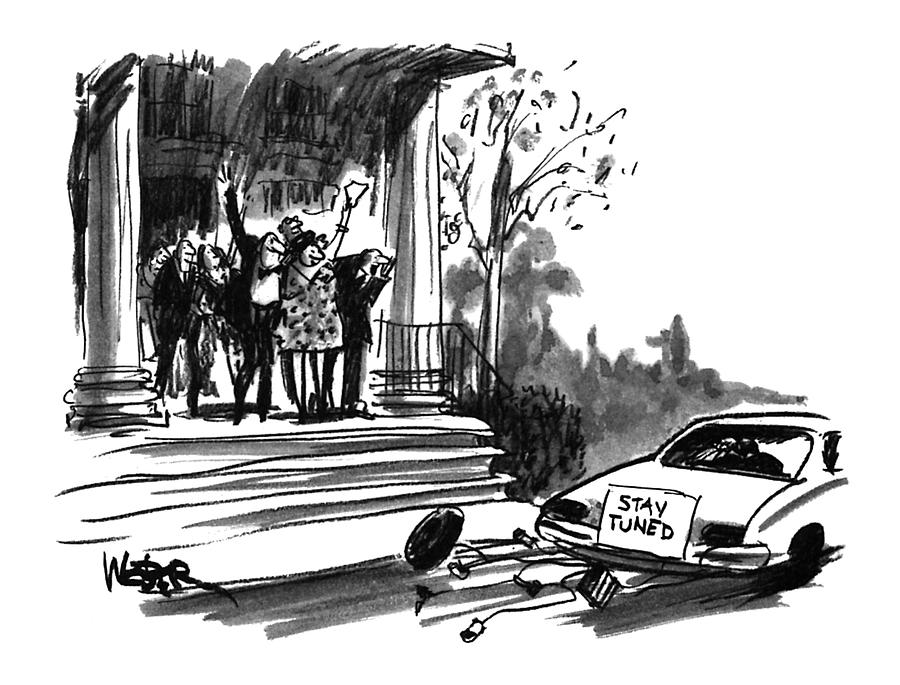 New Yorker October 24th, 1994 Drawing by Robert Weber