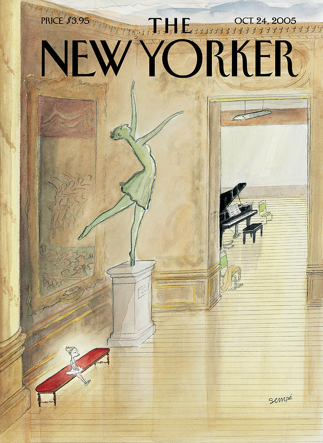 New Yorker October 24th, 2005 Painting by Jean-Jacques Sempe
