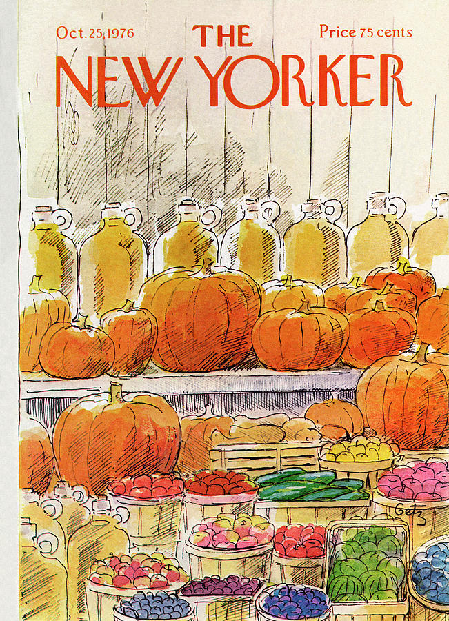 New Yorker October 25th, 1976 Painting by Arthur Getz