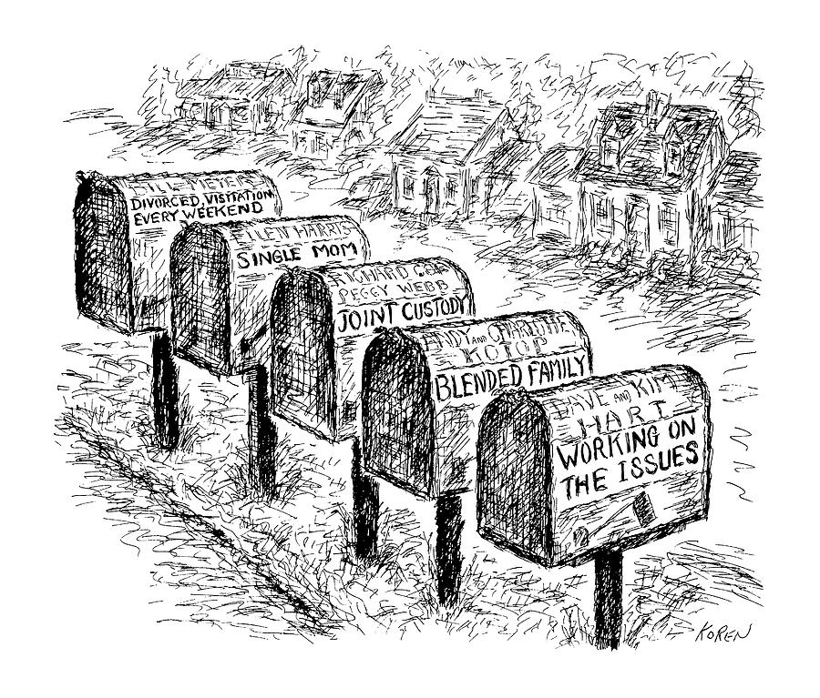 New Yorker October 26th, 1992 Drawing by Edward Koren