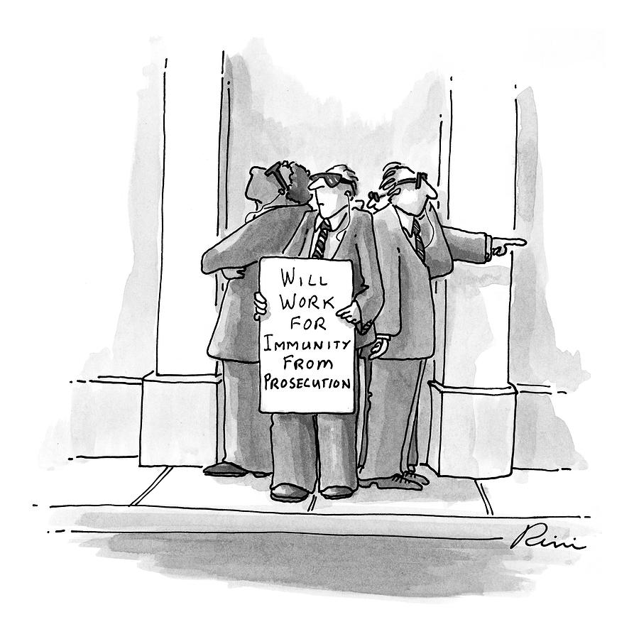 New Yorker October 26th, 1998 Drawing by J.P. Rini