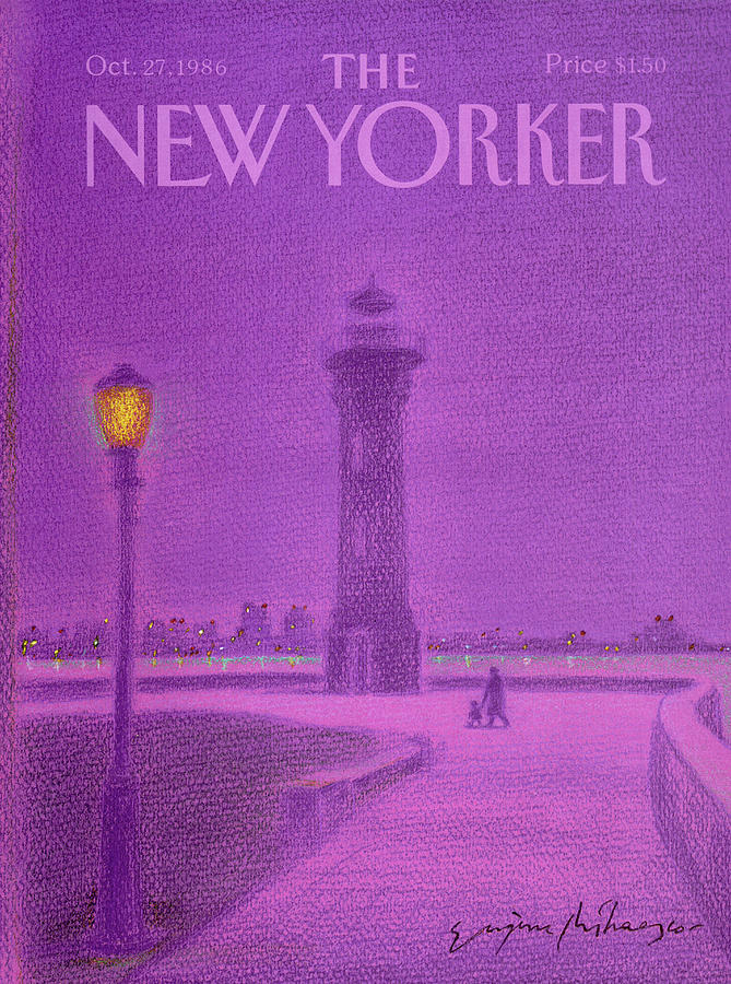 New Yorker October 27th, 1986 Painting by Eugene Mihaesco