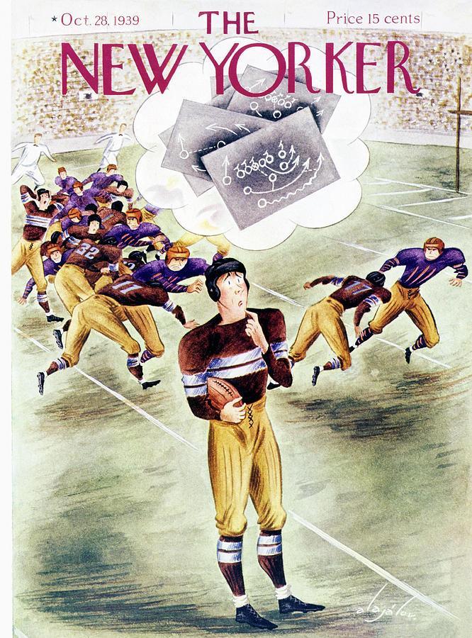 New Yorker October 28 1939 Painting by Constantin Alajalov