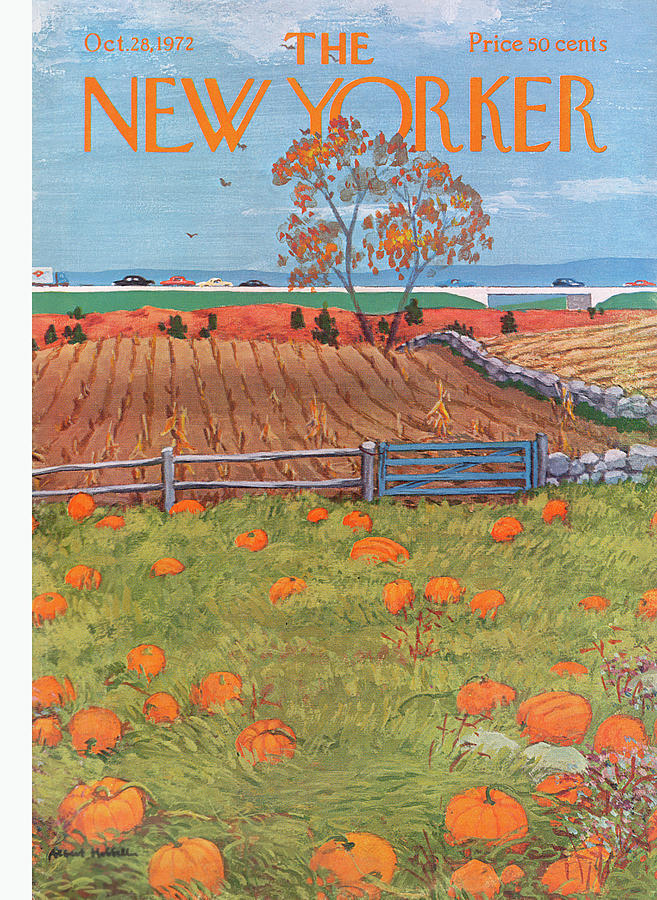 New Yorker October 28th, 1972 Painting by Albert Hubbell