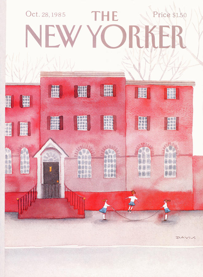 New Yorker October 28th, 1985 Painting by Susan Davis