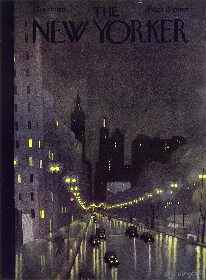 New Yorker October 29 1932 Painting by Arthur K Kronengold
