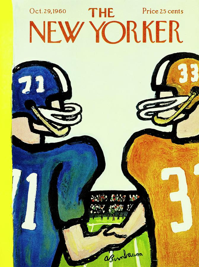 New Yorker October 29th 1960 Painting by Aaron Birnbaum