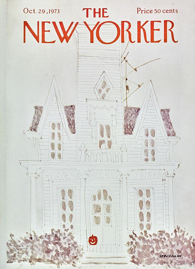 New Yorker October 29th 1973 Painting by James Stevenson