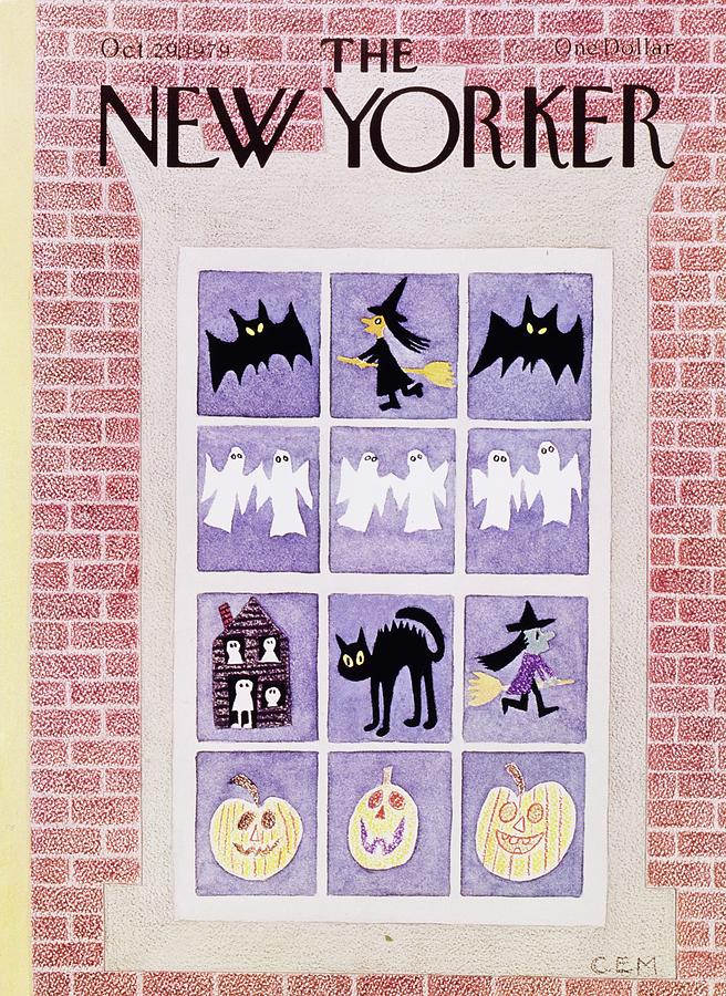 New Yorker October 29th 1979 Painting by Charles Martin