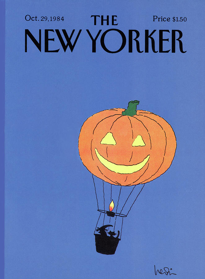 New Yorker October 29th, 1984 Painting by Arnie Levin