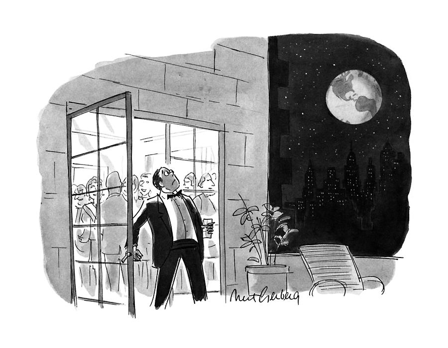 New Yorker October 29th, 1990 Drawing by Mort Gerberg