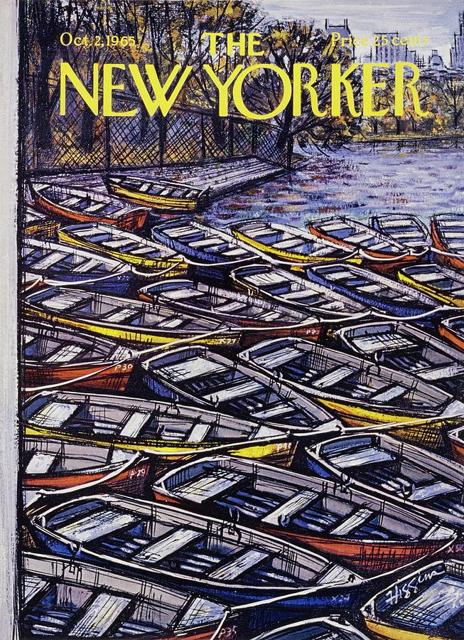 New Yorker October 2nd 1965 Painting by Donald Higgins