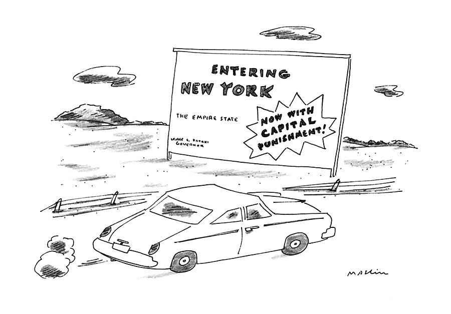New Yorker October 2nd, 1995 Drawing by Michael Maslin