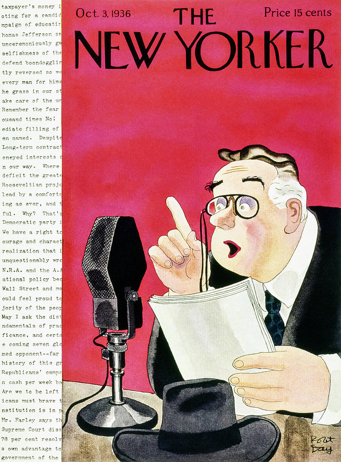 New Yorker October 3 1936 Painting by Robert Day