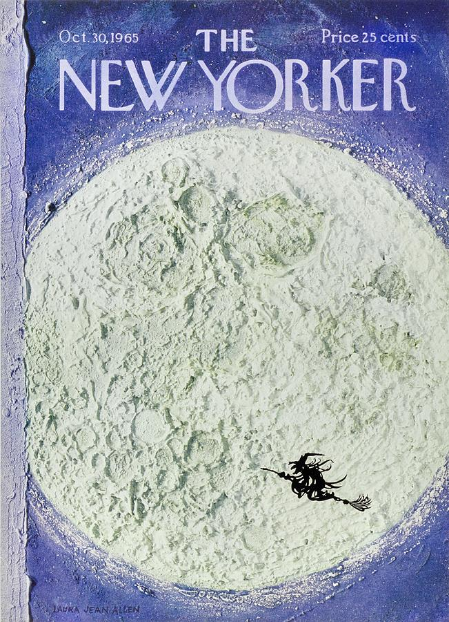 New Yorker October 30th 1965 Painting by Laura Jean Allen