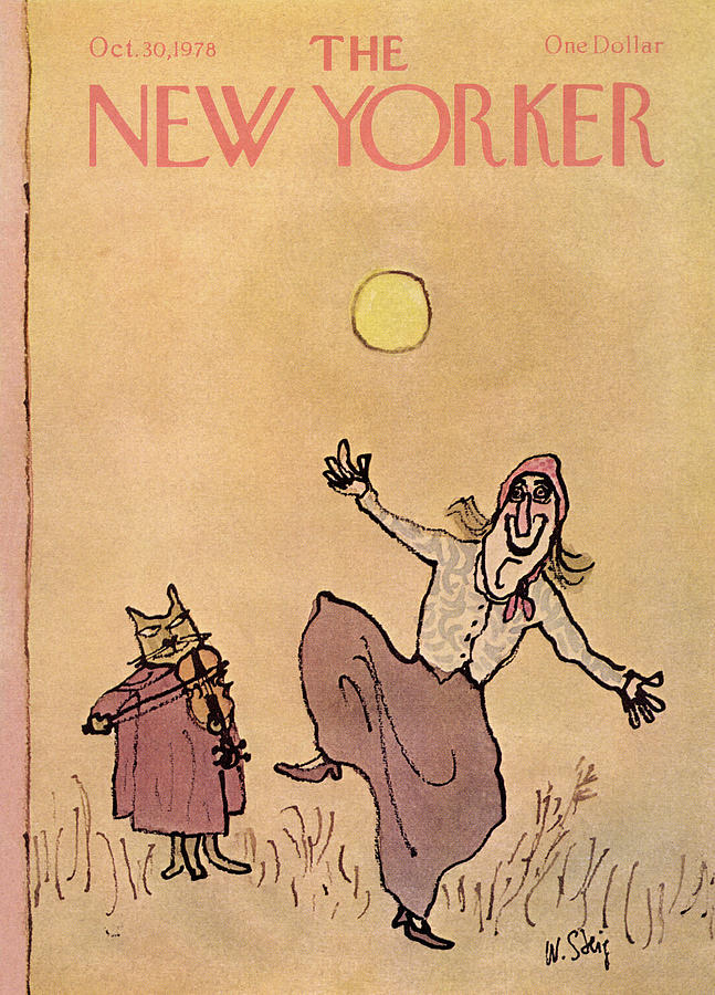 New Yorker October 30th, 1978 Painting by William Steig