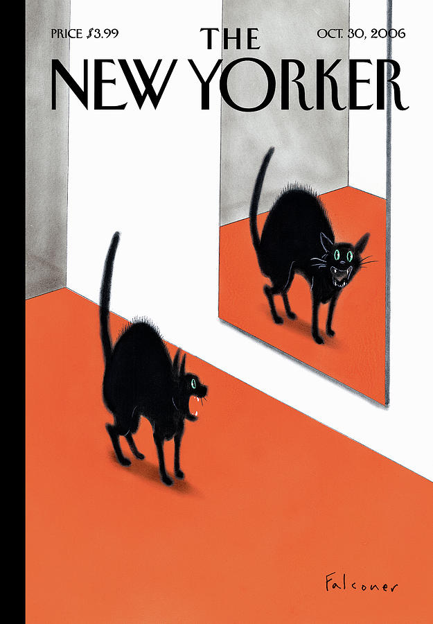 New Yorker October 30th 2006 Painting by Ian Falconer