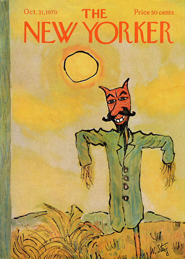 New Yorker October 31st, 1970 Painting by William Steig