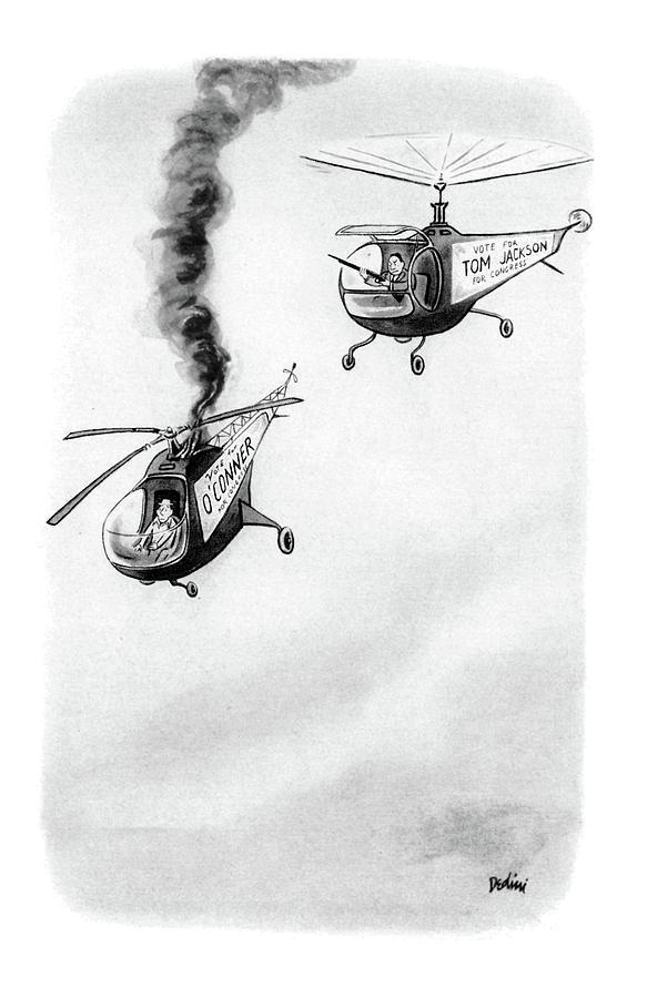New Yorker October 4th, 1952 Drawing by Eldon Dedini