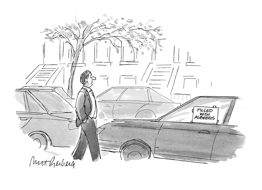 New Yorker October 4th, 1993 Drawing by Mort Gerberg
