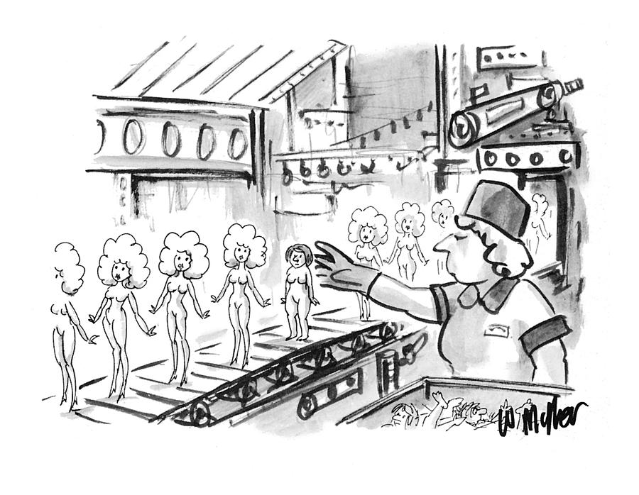 New Yorker October 4th, 1993 Drawing by Warren Miller