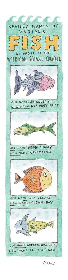 New Yorker October 4th, 1999 Drawing by Roz Chast
