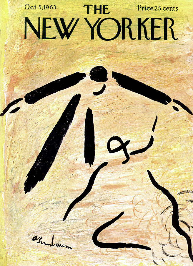 New Yorker October 5th, 1963 Painting by Abe Birnbaum