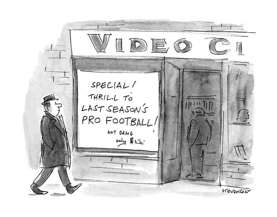 New Yorker October 5th, 1987 Drawing by James Stevenson
