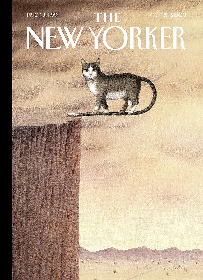 New Yorker October 5th, 2009 Painting by Gurbuz Dogan Eksioglu