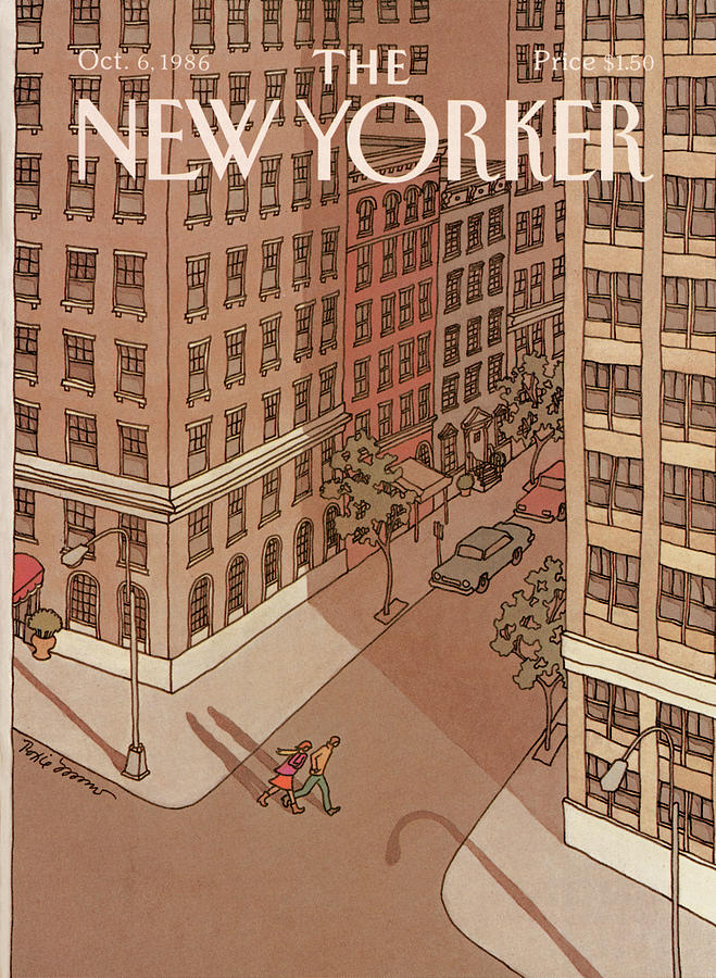 New Yorker October 6th, 1986 Painting by Roxie Munro