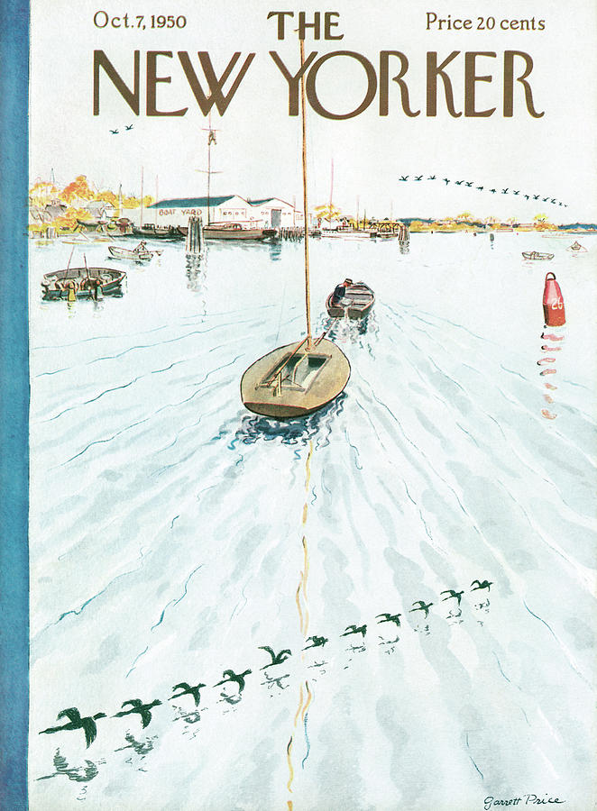 New Yorker October 7th, 1950 Painting by Garrett Price