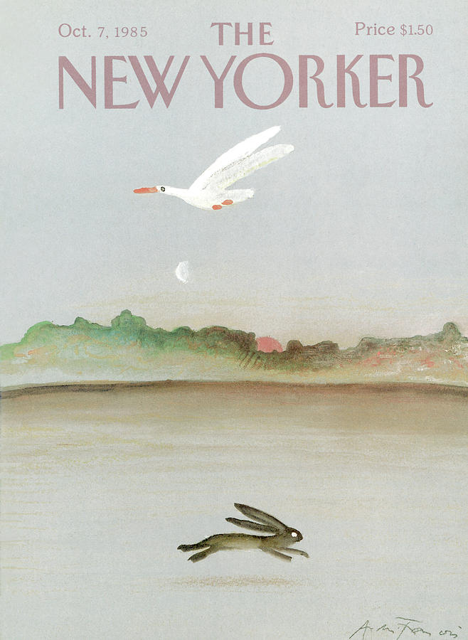 New Yorker October 7th, 1985 Painting by Andre Francois