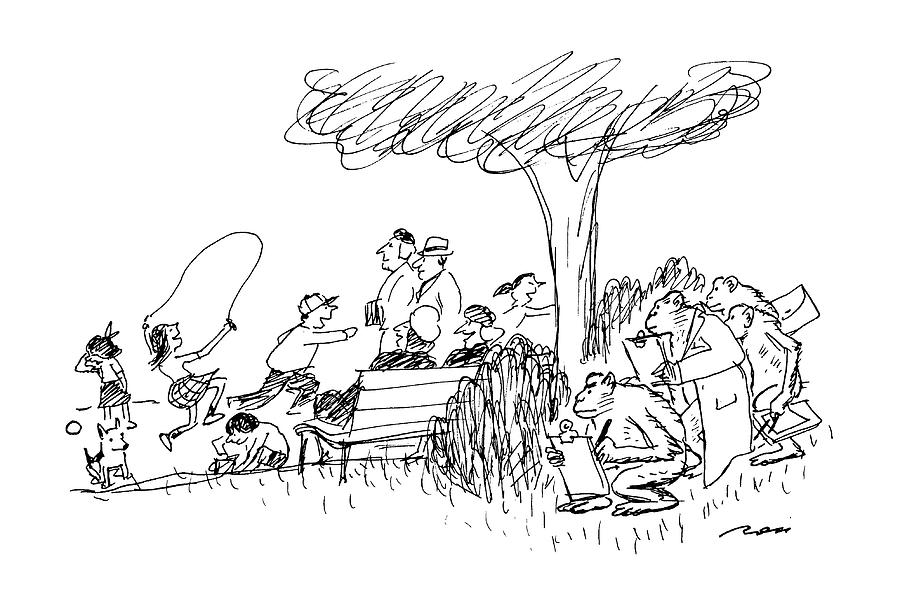 New Yorker October 7th, 1991 Drawing by Al Ross