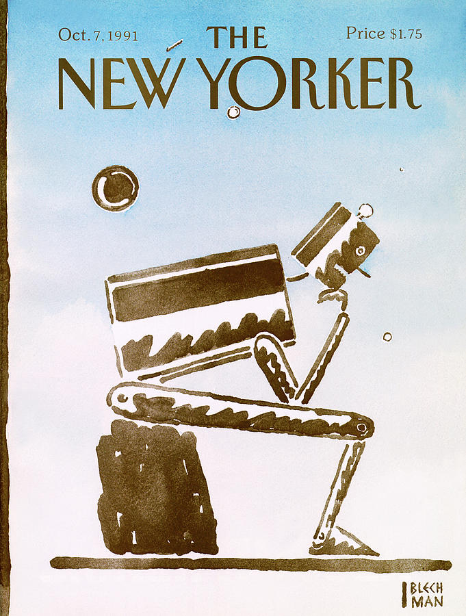 New Yorker October 7th, 1991 Painting by RO Blechman